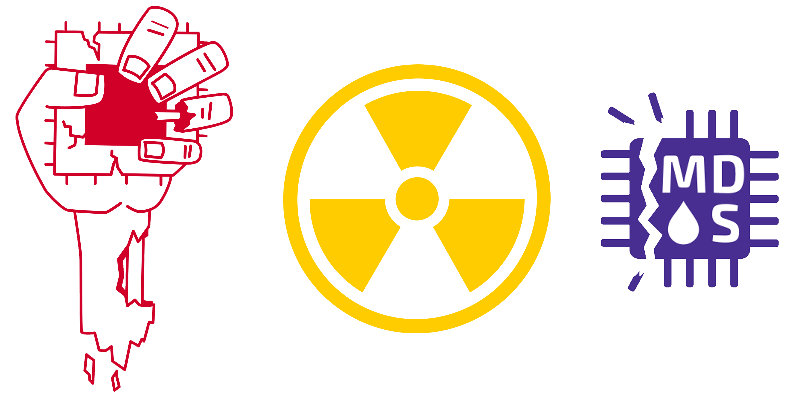 Fallout RIDL Zombieload logo's